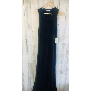 Cotton Citizen Sleeveless Maxi Dress Distressed